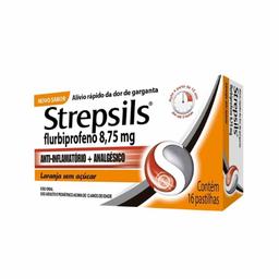 Strepsils Laranja (16 Pastilhas)