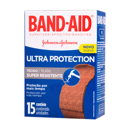 Curativos Ultra Protection Band-Aid Johnson & Johnson 15 Und