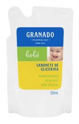 Sabonete Granado Bebê Glicerina Tradicional Refil 250 mL