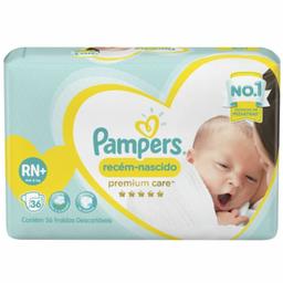 Fralda Pampers Recém-nascido
