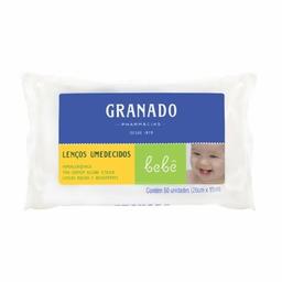 Lenços Umedecidos Granado Bebê Com 50 Und