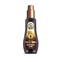 Spray Australian Gold Spf 8 gel Instant Bronze 125 mL