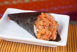 2x1 Temaki Salmão Spicy Salmão Levemente Apimentado