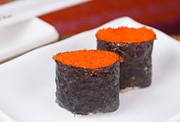 Dupla de Sushi de Massago Ovas de Caranguejo