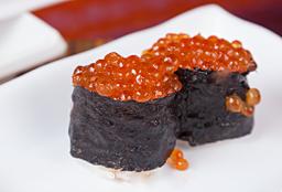 Dupla de Sushi Ikura Ovas de Salmão