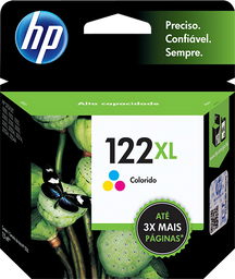 Cartucho HP 122XL Colorido
