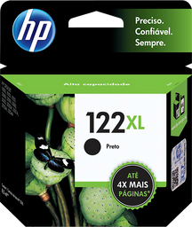 Cartucho HP 122XL Preto