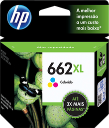 Cartucho HP 662XL Colorido