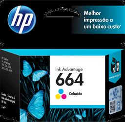 Cartucho HP 664 Colorido