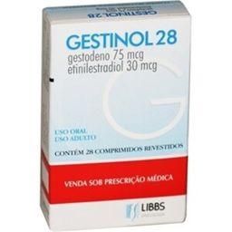 Gestinol 75/30Mcg Com 28 Comprimidos