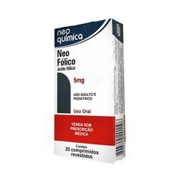 Neo Fólico 5mg Com 20 Comprimidos