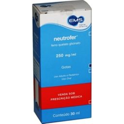 Neutrofer 250 Mg Com 30 mL
