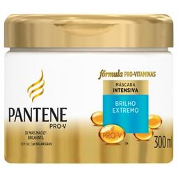 Creme De Hidratação Pantene Brilho Extremo 300 mL