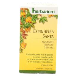 Espinheira Santa Herbarium 45 Capsulas