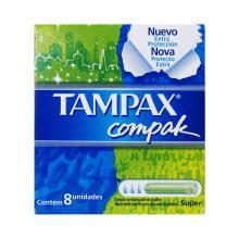 Absorvente Tampax Compak Com 8 Und