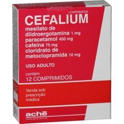 Cefaliv Com 12 Comprimidos