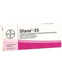 Diane 35 Bayer 21 Drágeas