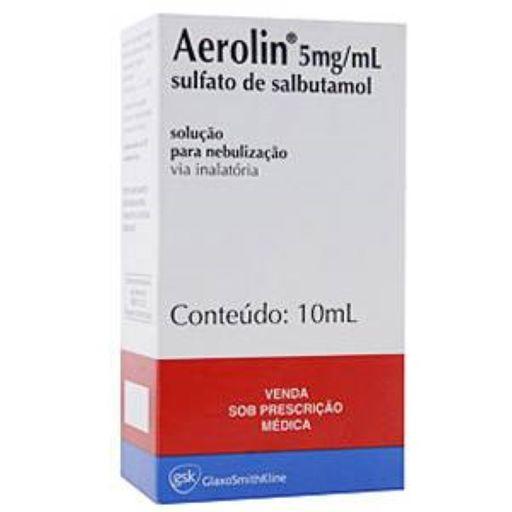 Aerolin 5Mg/ mL 10 mL