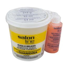 Creme Salon Line Guanidina Tradicional Super