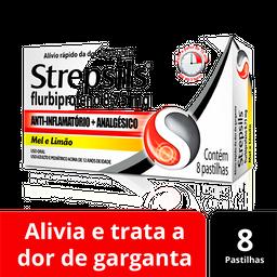 Strepsils Mel Limão 8 Pastilhas