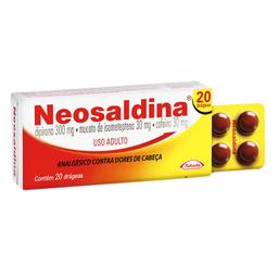 Neosaldina Com 20 Drágeas