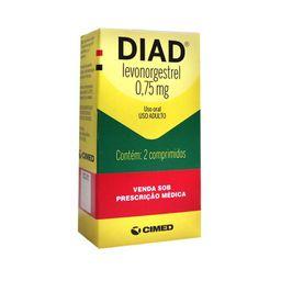Diad 0,75mg Com 2 Comprimidos