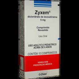 Zyxen Com 10 Comprimidos