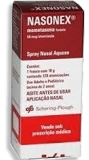 Nasonex Schering-Plough Spray Nasal 120 Doses