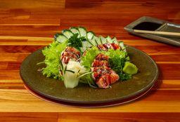 Sashimi Salmão Grelhado