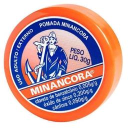 Pomada Minancora Contem Canfora 30 g