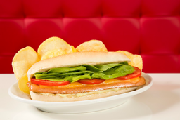 Cheese Hot Dog Salada