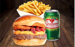 Combo London Burger 50% OFF