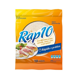 Rap 10 Pão Tipo Tortilha