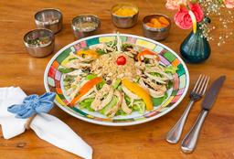 Salada Tunisiana Com Couscous Marroquino