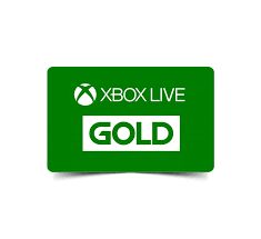 Gift Card - Xbox Live GOLD.