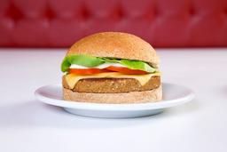 Cheese Grão de Bico Veggieburger Salada