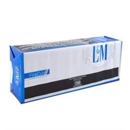 Cigarro Lm Blue Label Com 10