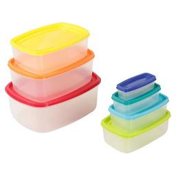 Conjunto Potes Rainbow, 7 Peças, Colorido