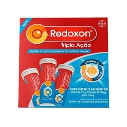 Redoxon Tripla Ação 3X10 Comprimidos