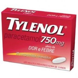 Tylenol 750 Mg Revestidos