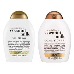Ogx Shampoo Condicionador Coco Milk 385 mL