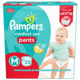 Fralda Pampers Confort Sec Pants M Com 22 Und