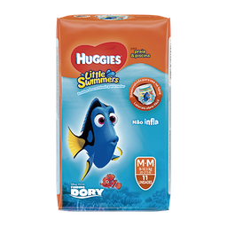Fralda HUGGIES Little Swimmers M - 11 Fraldas