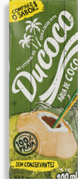 Água de Coco Ducoco 200 mL