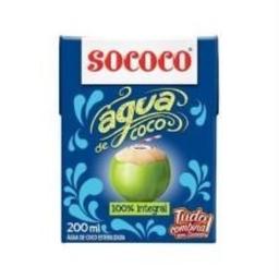 Água de Coco Sococo 200 mL