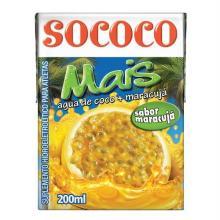 Água de Coco Sococo Maracujá 200 mL