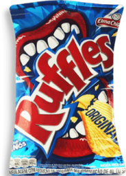 Batata Ruffles Sal Chips 96 g
