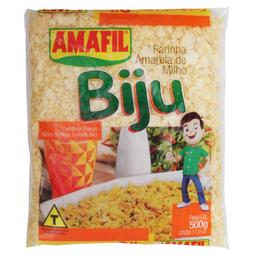 Farinha de Mandioca Amafil Biju Torr 500 g