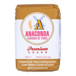 Farinha de Trigo Anaconda Prem. 1 Kg
