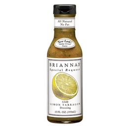 Molho Briannas Lively Lemon Tarrag 355 mL